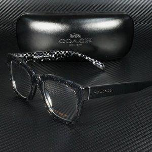 COACH Black 51mm Eyeglasses